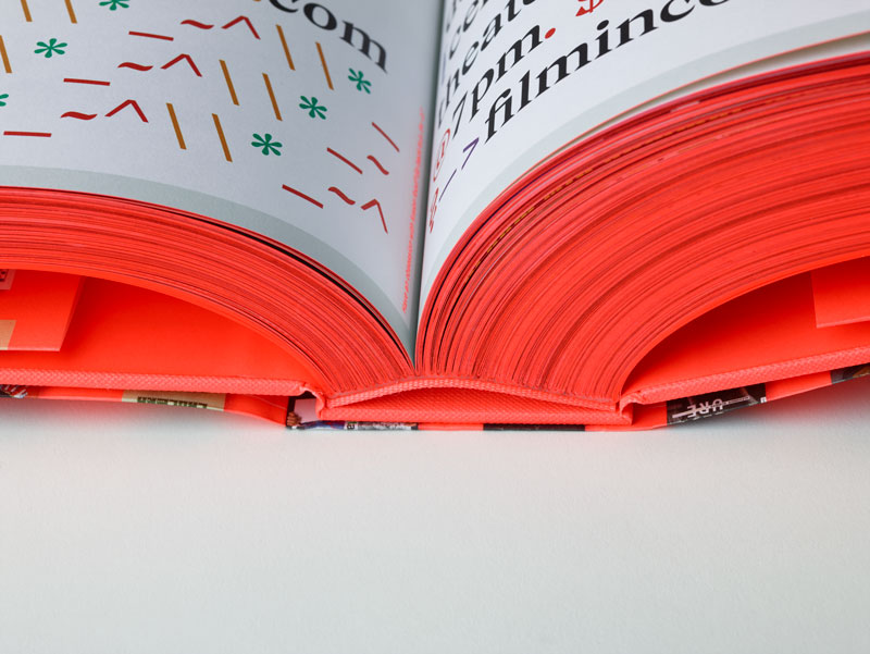 SVA Senior Library Spine Detail Shot