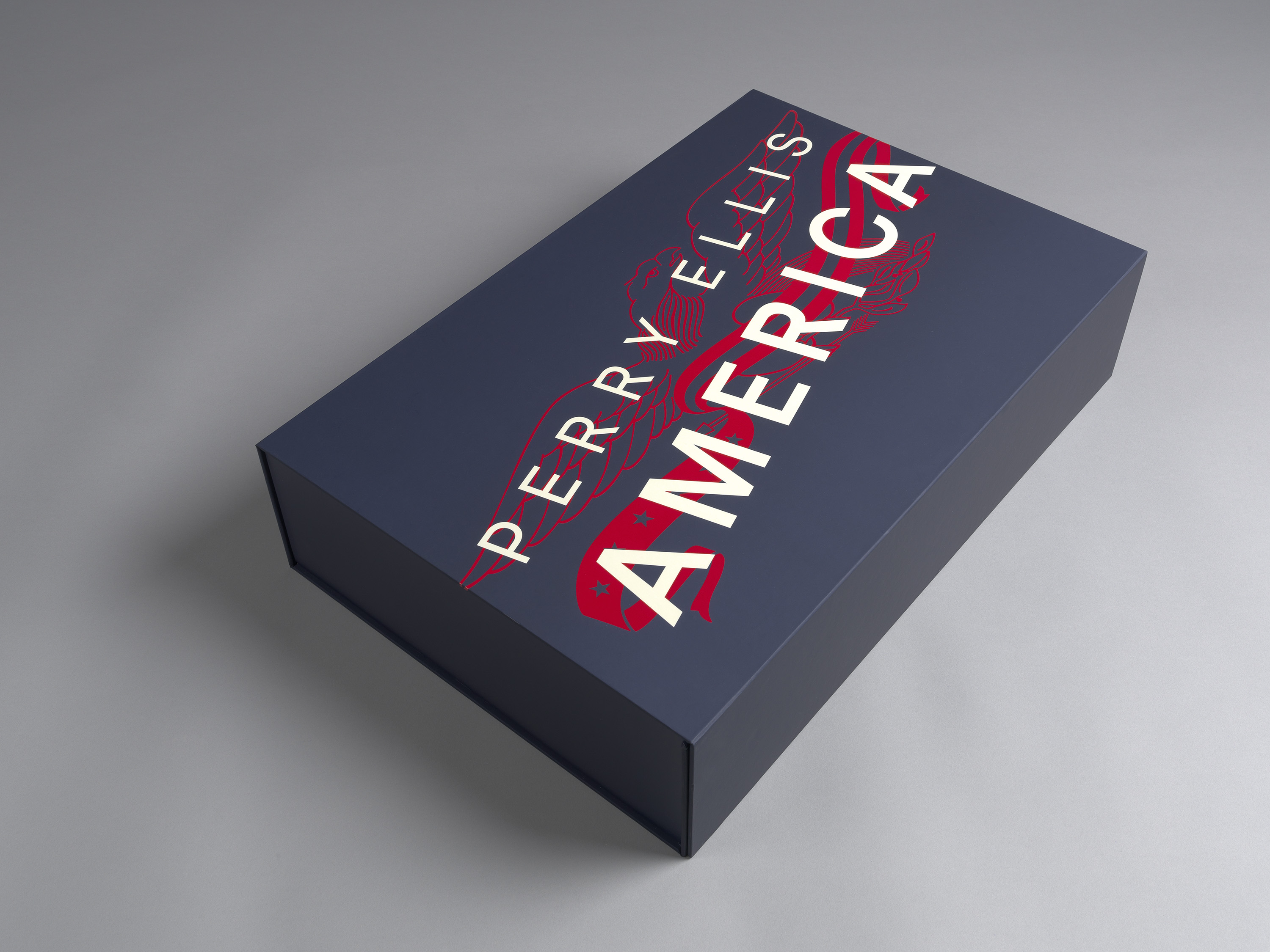 An Extravagant Gift Box for Perry Ellis