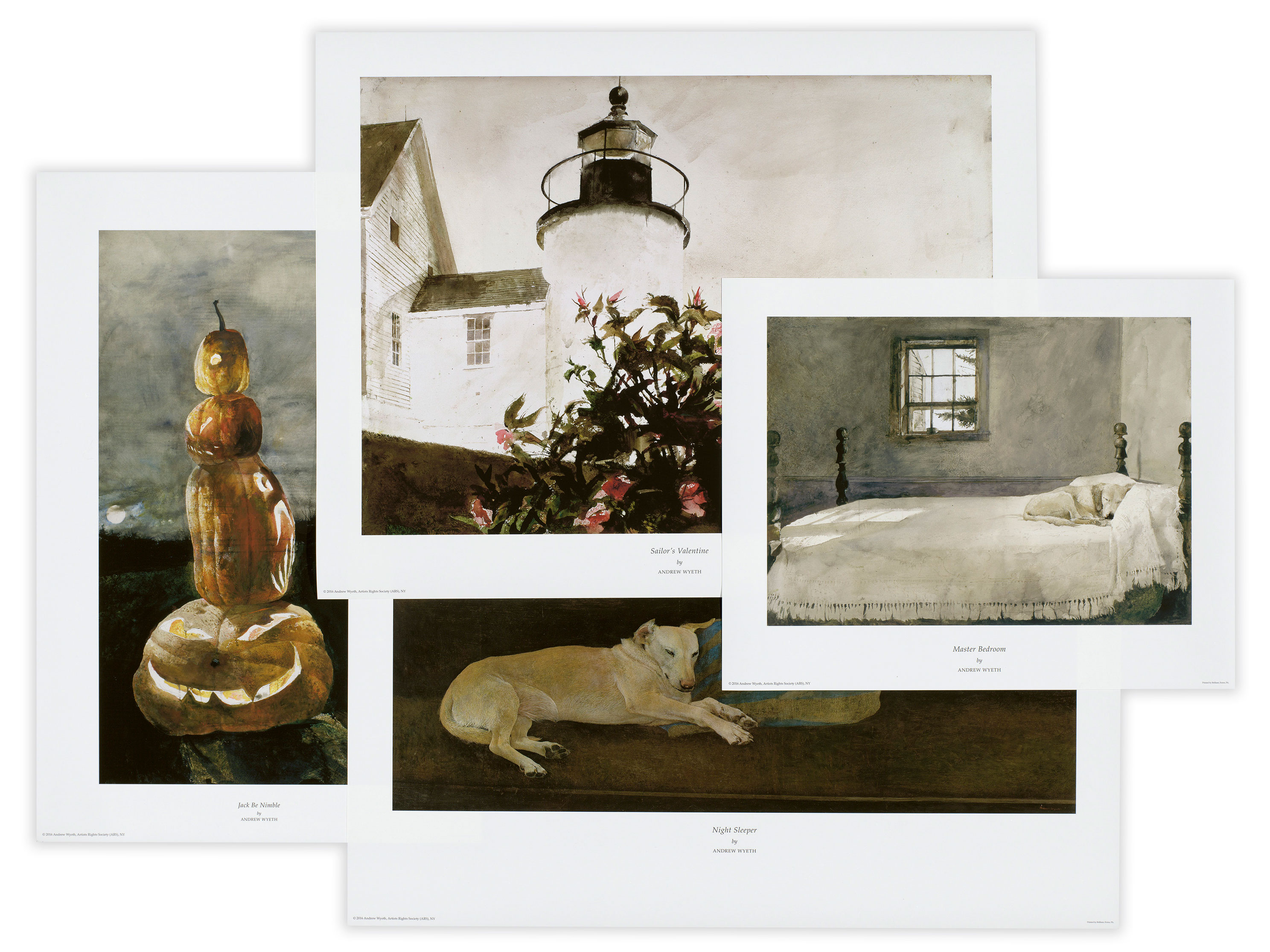 Our Exclusive Andrew Wyeth Collection Brilliant